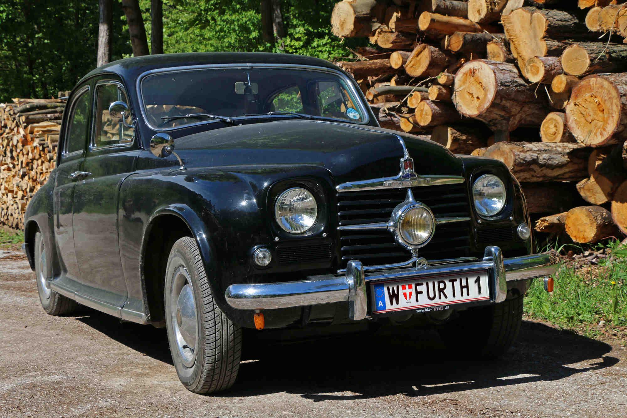 Rover P4, Bj. 1951