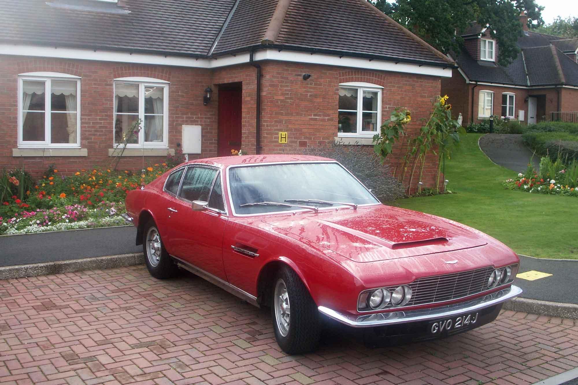 Aston Martin DBS V8, Bj. 1971